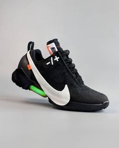 Off-white x Nike Air by Juampi* Sneakers Vans, Sneakers Fashion, Fashion Shoes, Converse, Custom Sneakers, Sports Footwear, Sports Shoes, Shoes Sport, Sneaker Store