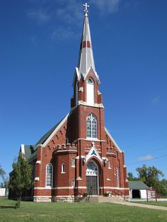 My grandmother was baptized in this>St. Columbkilles Catholic Church Blaine, Kansas on 12-24-1909