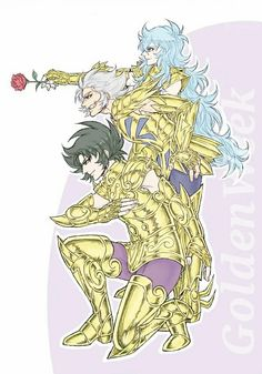 Saint Seiya Shura, Dead Mask and Afrodita
