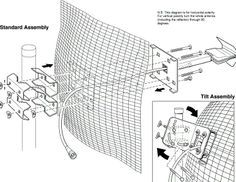 King Jack Oa8000 Hd Tv Antenna Replacement Head F Sensor