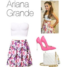 ariana grande steal her style | fashion look from March 2014 featuring ASOS tops, Forever 21 skirts ...