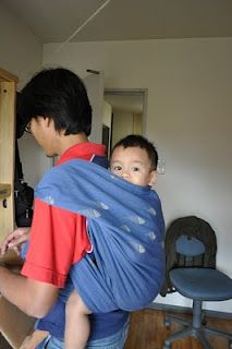 Another babywearing dad