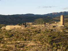 Castillo de Almonecir .Castellon .Spain .