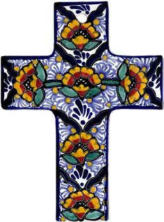 Talavera Cross from http://LaFuente.com