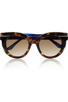 Thierry Lasry Round-frame acetate sunglasses | NET-A-PORTER