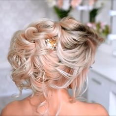 Do you wanna see more fab hairstyle ideas and tips for your wedding Then, just visit our web site babe! hairtutorial braidtutorials hairvideo videotutorial updotutorial updoideas weddinghair bridalhair braidedUpdos is part of Hair - Cute Hairstyles Updos, Wedding Hairstyles, Hairstyle Ideas, Style Hairstyle, Black Hairstyles, Updo Styles, Curly Hair Styles, Natural Hair Styles, Peinado Updo