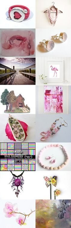 Game in Pink by Lula Galsol on Etsy--Pinned with TreasuryPin.com