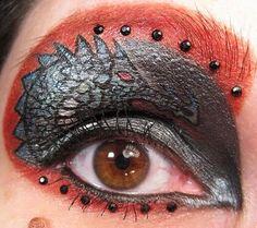 Artistic stuff: Dragon I Female Dragon, Dragon Eye, Year Of The Dragon, Sagittarius, Eye Makeup, Halloween Face Makeup, Eyes, Artist, Window