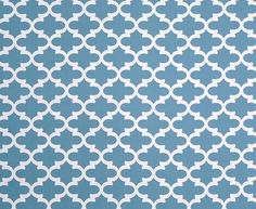 Premier Prints Fynn Regatta- Fabric by the Yard - Home Decorating Fabric Blue Fabric Moroccan Tiles