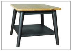 MAB-SLT010 Square Lamp Table w/ Legs 550mm x 550mm x 450mm High