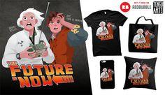 The Future is Now  #BackToTheFuture #Future #SciFi #Fantasy #Fan #FanArt