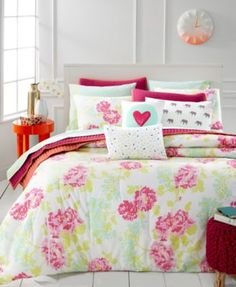 Whim by Martha Stewart Collection Pixel Perfect 4-Pc Twin/Twin XL Comforter Set, Only at Macy's