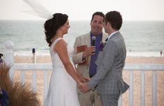 Windy Wedding Day at Shutters in Santa Monica -repinned from California wedding minister https://OfficiantGuy.com #laweddings #losangelesofficiant