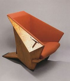 Frank Lloyd Wright Origami Chair Furniture Funky Unique