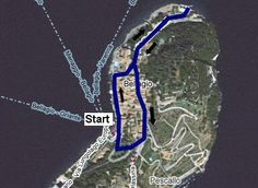 Bellagio Walk Map
