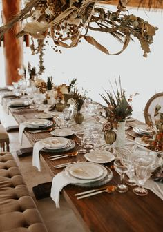 Boho Wedding Decorations, Wedding Table Settings, On Your Wedding Day, Chic Wedding, Tablescapes, Earthy, Boho Chic, Bridal Shower, Dining