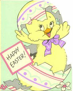Vintage Easter Card Easter drawings This item is unavailable Easter Greeting Cards, Vintage Greeting Cards, Easter Drawings, Easter Art, Animal Cards, Egg Decorating, Vintage Easter, Vintage Images, Happy Easter