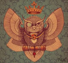 Preety Owl by AnnASmirnova on DeviantArt Doctor Who Tattoos, Gravure Illustration, Beautiful Owl, Owl City, Chest Piece, Bathroom Art, Illustrations, Cool Paintings, Lovers Art