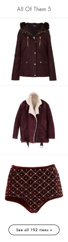 """""""All Of Them 5"""" by angelbrubisc ❤ liked on Polyvore featuring outerwear, jackets, coats, coats & jackets, topshop, aubergine, fur hood parka, brown parka, cotton parka and padded parka"""