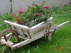 If I ever find an old wheelbarrow I am doing this for sure!