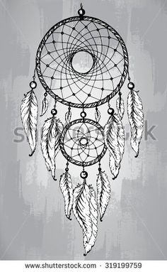 dream catcher with moon tattoo - Google Search