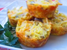 Cheddar-Potato Bites - grated potato & cheese with onion and seasoning
