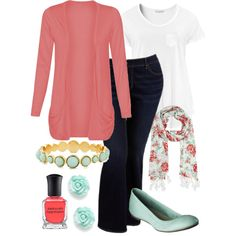 Teacher Outfits on a Teacher's Budget 121 by allij28 on Polyvore featuring H&M, Old Navy, Merona, River Island and Deborah Lippmann