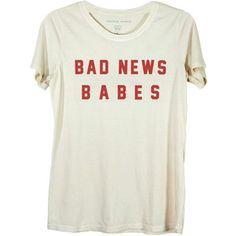 Bad News Babes Ivory