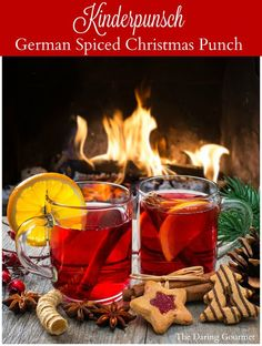 foodffs: Kinderpunsch (German Non-Alcoholic Christmas. foodffs: Kinderpunsch (German Non-Alcoholic Christmas Punch) Really nice recipes. Every hour. Show me what you cooked! Non Alcoholic Christmas Punch, Christmas Drinks, Unique Christmas Gifts, Noel Christmas, Holiday Punch, Christmas Fireplace, Magical Christmas, Christmas Images, Christmas Piano Music