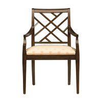 Jaqueline Armchair - with leather seat