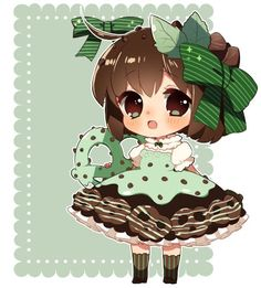 UPDATE:: added BG ;v; actually the lace is from my adopts! XD;;;to lazy to make a new one Based off of these goodies! TvT////// people voted on the poll, so I randomly picked mint pretzel...
