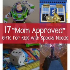 "17 ""Mom Approved"" Gifts for Kids with Special Needs 