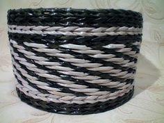 "Weaving of the pattern ""Volumetric Rope"".  TUTORIAL -  TEJIDO COMBINADO"
