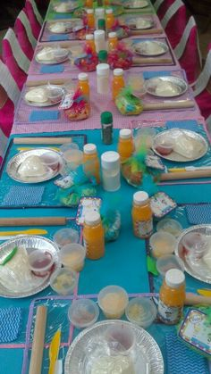 CSAW Masterchef Party Table