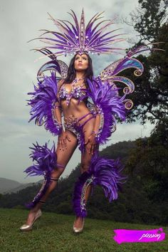 "At my last birthday, I vowed to ""become a better Caribbean man"" before another year passed. Definitely broad and lofty ambitions with lots of interpretiv Carnival Dancers, Carnival Girl, Brazil Carnival, Carnival Outfits, Trinidad Carnival, Showgirl Costume, Costume Carnaval, Samba Costume, Burlesque Costumes"