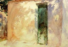 John Singer Sargent. La puerta verde, Corfú (1909) (by Li Taipo)