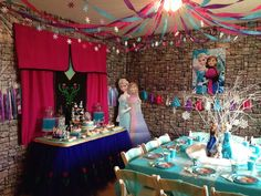 Frozen Party Birthday Party Ideas   Photo 4 of 9   Catch My Party