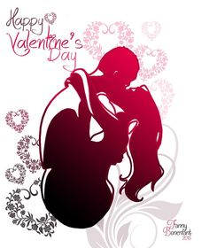 Happy Valentine's Day Art by Fanny Bonenfant illustrator and designer textile. Love - Heart - Romantic and pinky day !  Find all my creations on : http://www.fanny-bonenfant.com