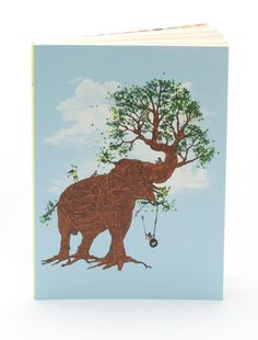 Elephant Trunk x Tree Trunk Elephant Trunk, Elephant Love, Elephant Family, Bodhi Tree Tattoo, Animal Collective, You Draw, Cute Characters, Cool Cards, Illustration Art