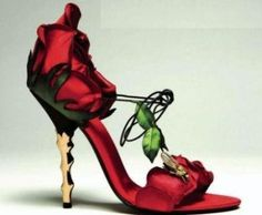 These shoes say I want to tango!