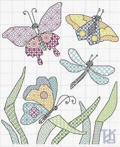 BLACKWORK butterflies