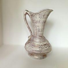 Heavy Flower Vase Mid Century Savoy China by EchoesInTimeVintage