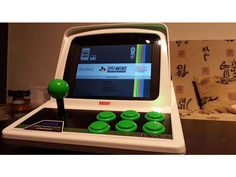 Minitel Arcade by Game-Makers Portable Game Console, Toenail Fungus Treatment, Modern Games, Retro Arcade, Kids Ride On, Lead Acid Battery, Fungi, Arcade Games, Nintendo Consoles