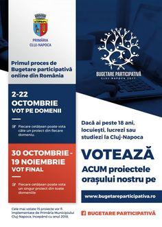 Ultima zi de vot pe domenii la Bugetare participativă