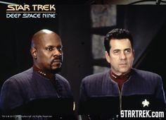 Sisko and Ross