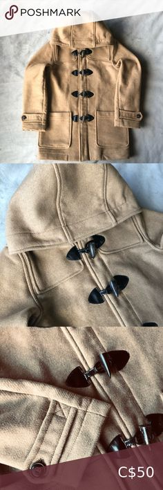 Zara 60% Wool Jacket Boys Size 9/10 Zara  Wool blend jacket with good, classic look  Oversized button closure, with full zip underneath  In excellent condition Zara Jackets & Coats