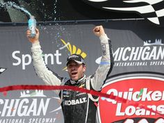 June 15: Jimmie Johnson wins the Quicken Loans 400 at Michigan International Speedway.