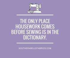 #southernbellefabrics #sewing #housework