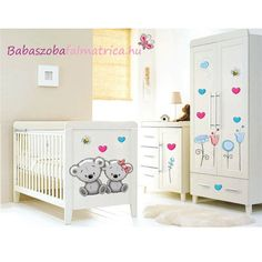 Koalamacis gyerekszoba falmatrica #falmatrica #babaszoba #koala #gyerekszoba #faldekoráció #virág Toddler Bed, Furniture, Home Decor, Child Bed, Decoration Home, Room Decor, Home Furnishings, Arredamento, Interior Decorating