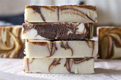 DIY Peppermint Mocha Soap